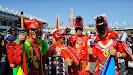 Huge Japanese Ferrari F1 fans!