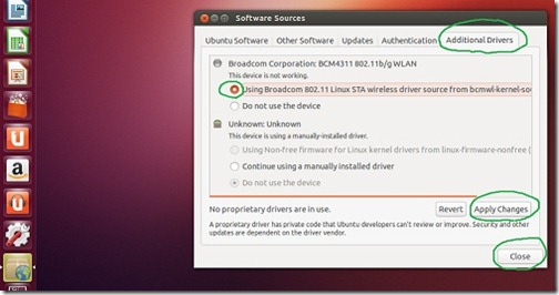 How to install proprietary drivers in Ubuntu1