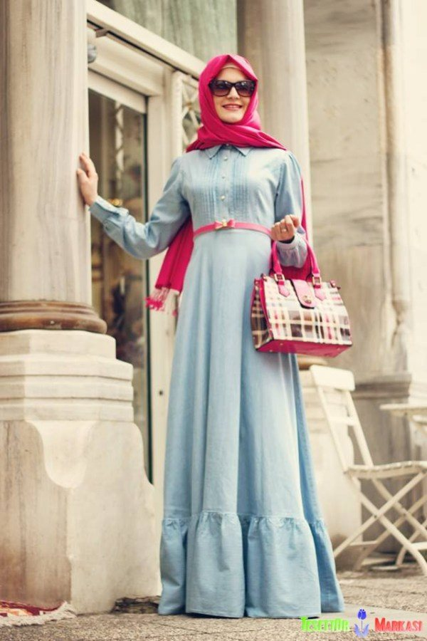 trendy hijab summer outfit ideas 2015 2016 - Styles 7