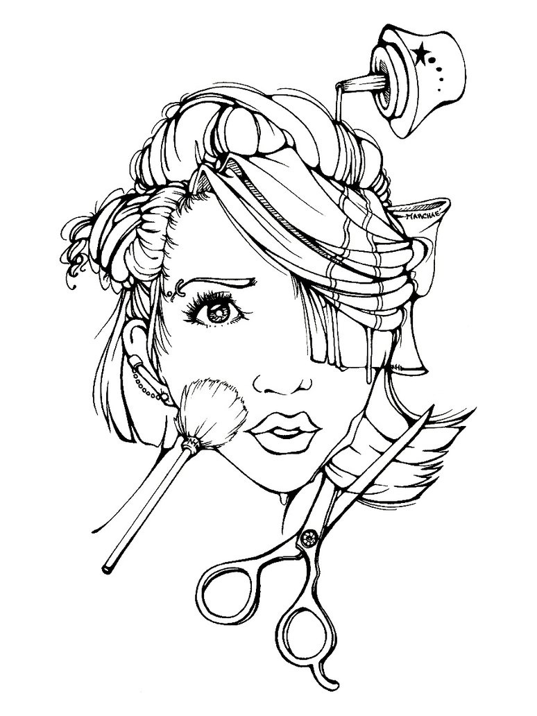 Best girly mandala coloring pages pictures coloring for Girly coloring pages