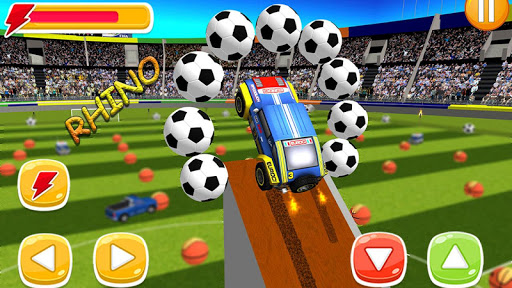 Happy Soccer League : Kids Electric Cars 1.2 screenshots 5