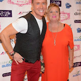 WWW.ENTSIMAGES.COM -   Steven Smith and Nicola Duffet   at     Charity catwalk show at Wear it for Autism - Millennium Hotel London Knightsbridge, London October 6th 2014Charity fashion show to celebrate families and individuals affected by autism.                                                 Photo Mobis Photos/OIC 0203 174 1069