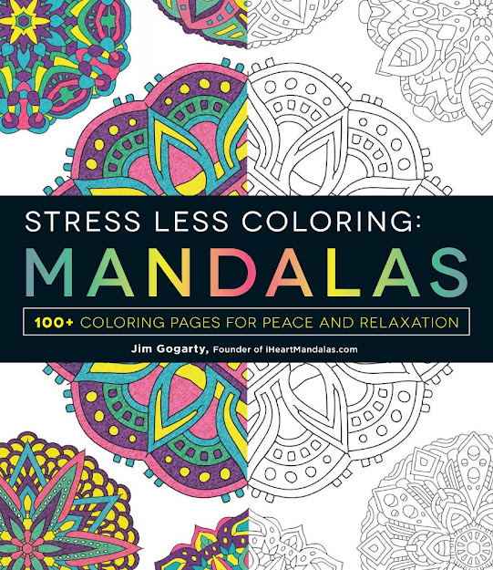 Stress Less Coloring Mandalas Available Now