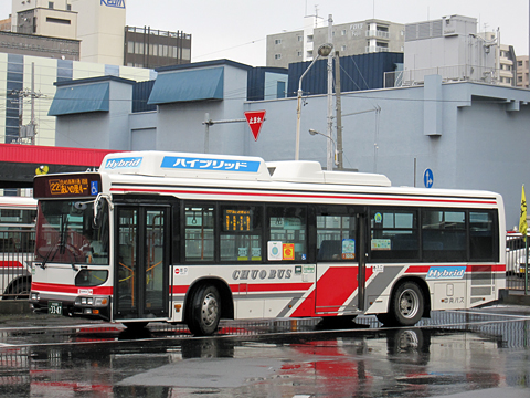 北海道中央バス 22番 石狩営業所所属 3347