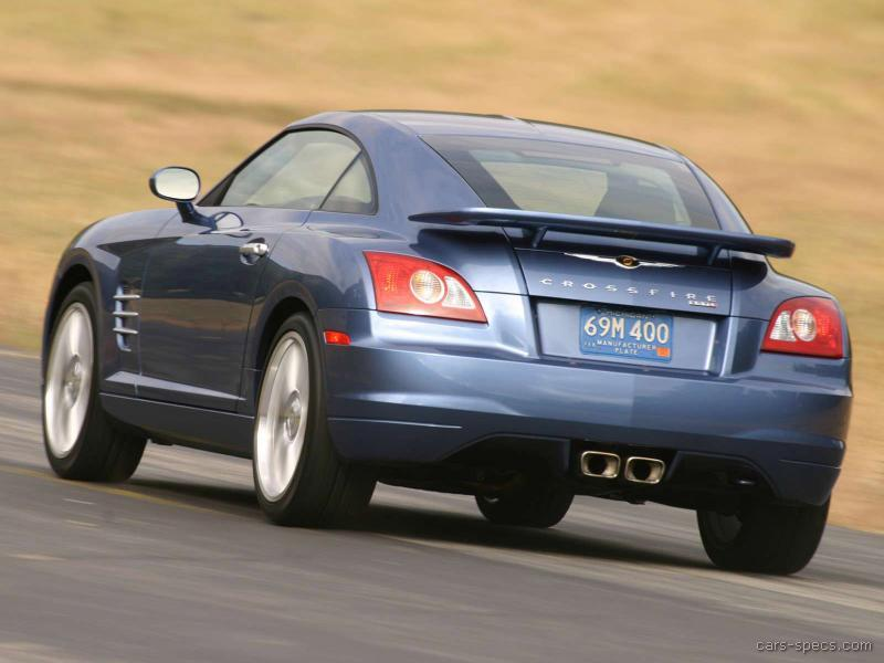 2005 Chrysler Crossfire SRT6 Specifications Pictures Prices