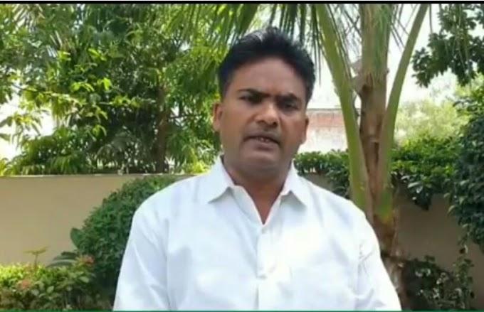 चित्तौड़गढ़ विधायक चंद्रभान सिंह आक्या ने 10 मई से लगने वाले लोकडाउन की पालना हेतु आमजन से की अपील ।