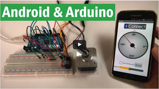Noted: This Video Shows How to Build an Android App for Your Arduino Project