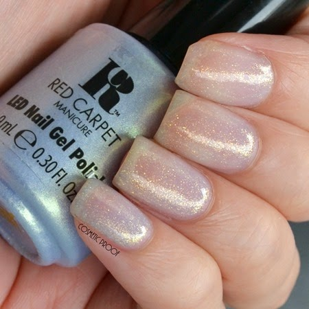 Red Carpet Manicre - A Matter of Prince-iple Swatch Review