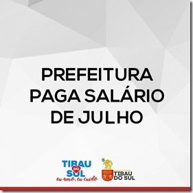 Prefeitura de Tibau do Sul paga salários de julho