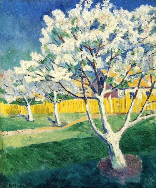 Kazimir Malevich - Apple Tree in Blossom