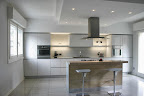 realizzazione cucina Valcucine artematica vetro a Bergamo S.Giovanni Bianco