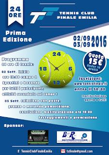 24 Ore Tennis non Stop - Prima Edizione
