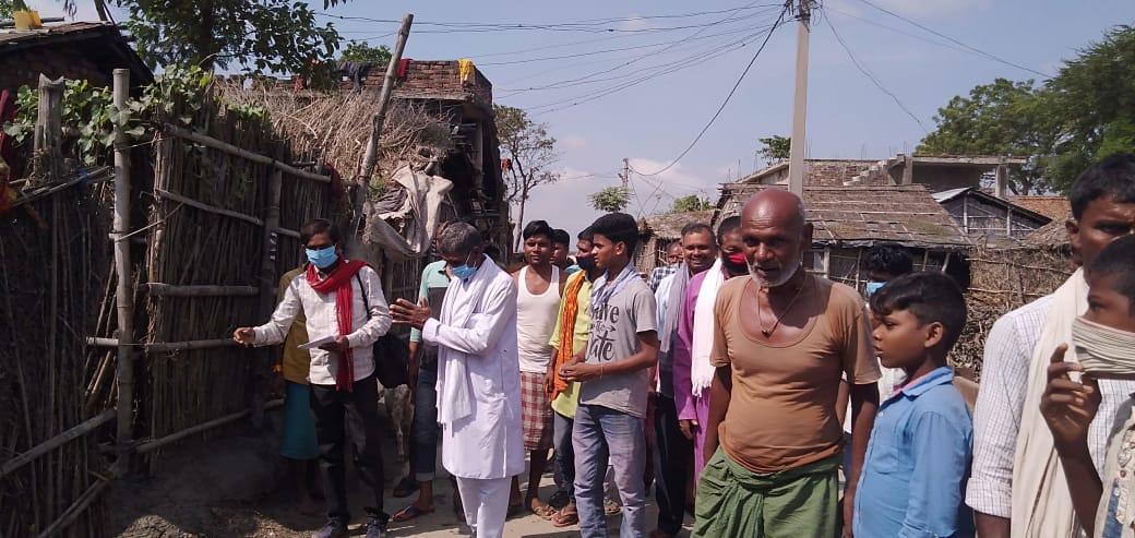 खगड़िया/बेलदौर विधानसभा क्षेत्र से निर्दलीय प्रत्याशी गणेश सादा ने चुनाव प्रचार में झोंकी पूरी ताकत