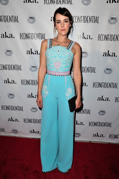 Jena Malone Los Angeles Confidential Celebrates