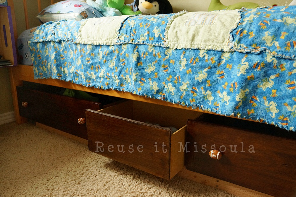 Reuse it - Underbed dresser