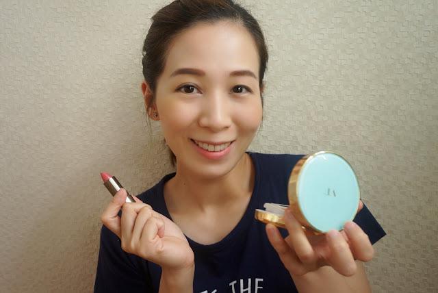 化妝其實好簡單☻粉底 胭脂+唇膏♥