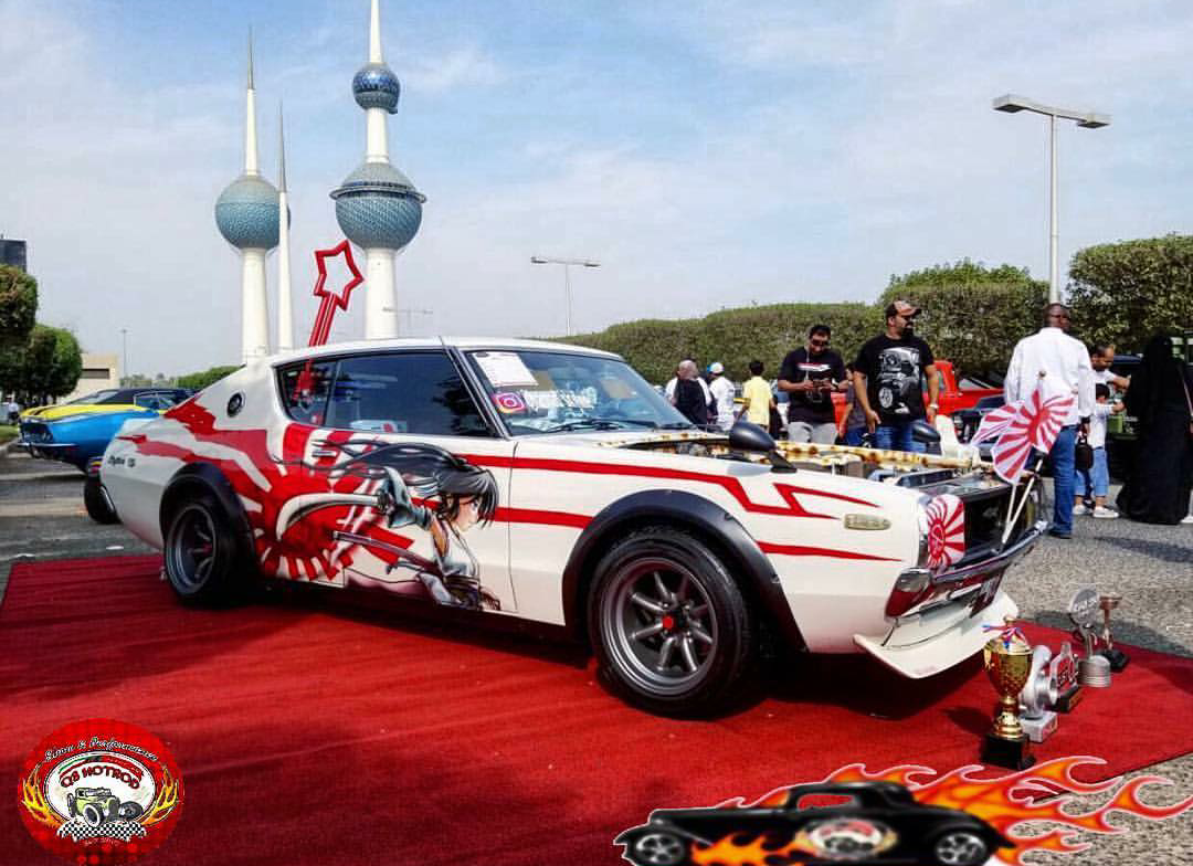 Ladies who do lunch in Kuwait: Q8 Hot Rod Club's Stunning
