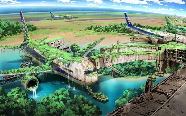 Ancient Planes, Fiction 1