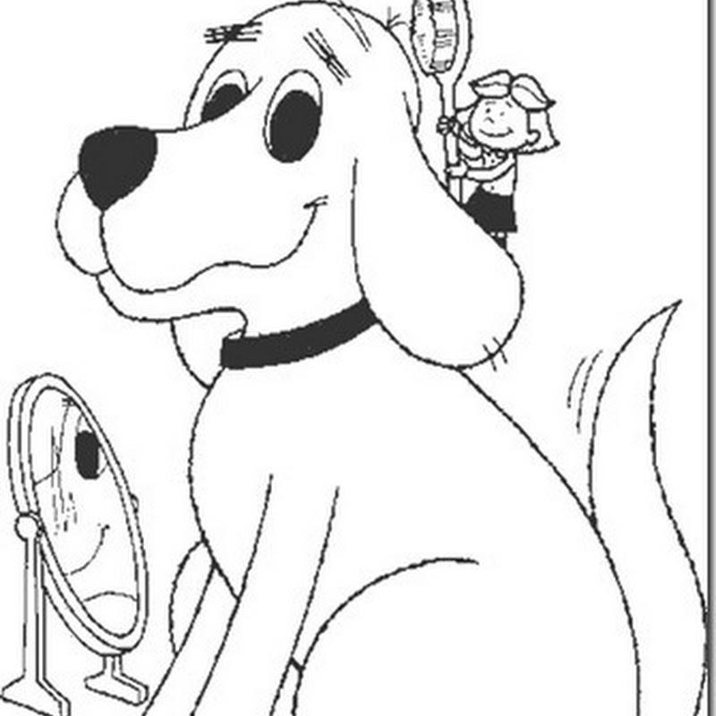 Clifford el gran perro rojo para colorear
