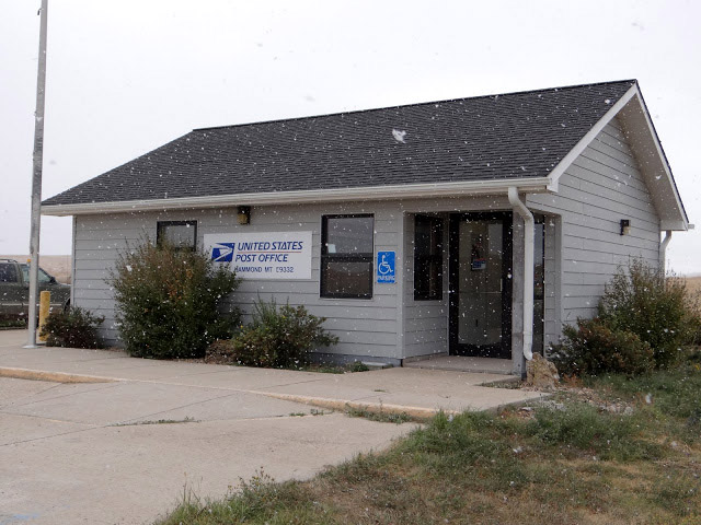Hammond, MT post office