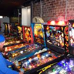 unlimited pinball machines at Tilt Arcade Bar Toronto in Toronto, Ontario, Canada