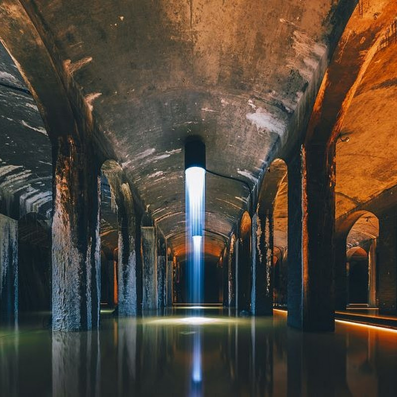 Cisternerne: A Subterranean Water Reservoir Turned Into Art Gallery