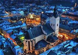 Lviv night sightseeing tour