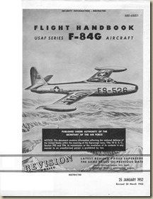 Republic F-84G Thunderjet Flight Handbook_01