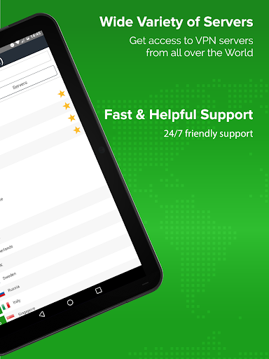 Unlimited VPN app - Simple and easy to use - ibVPN 3.4.1 screenshots 11