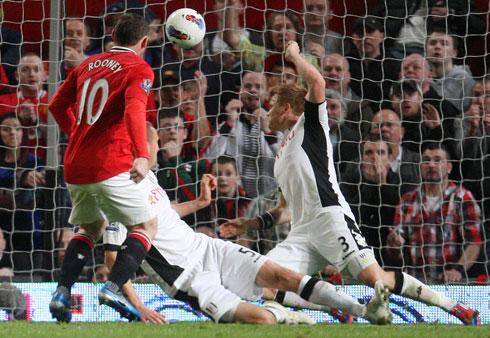 Wayne Rooney, Manchester United - Fulham