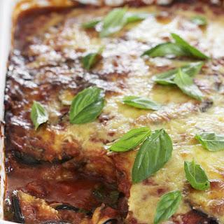 Eggplant Parmigiana.