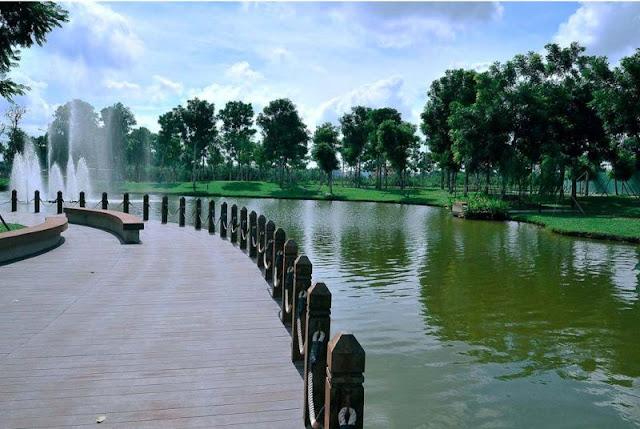 Công viên sắc màu Nhật Bản AEON
