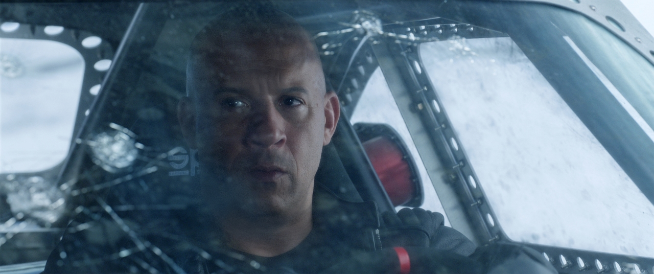Vin Diesel in THE FATE OF THE FURIOUS. (Photo courtesy of Universal Pictures).