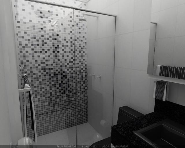 Arquitetando meus sonhos Pastilhas no Banheiro  Se jogue nos detalhes! -> Banheiro Com Pastilha Preta E Branca