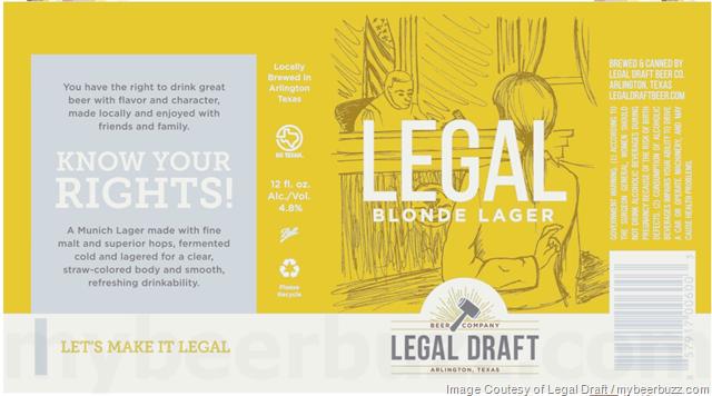 Legal Draft - Legal Blonde Lager