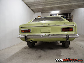 Mk1 Pre-facelift Capri - did u know those are Escort Mk1 taillights?