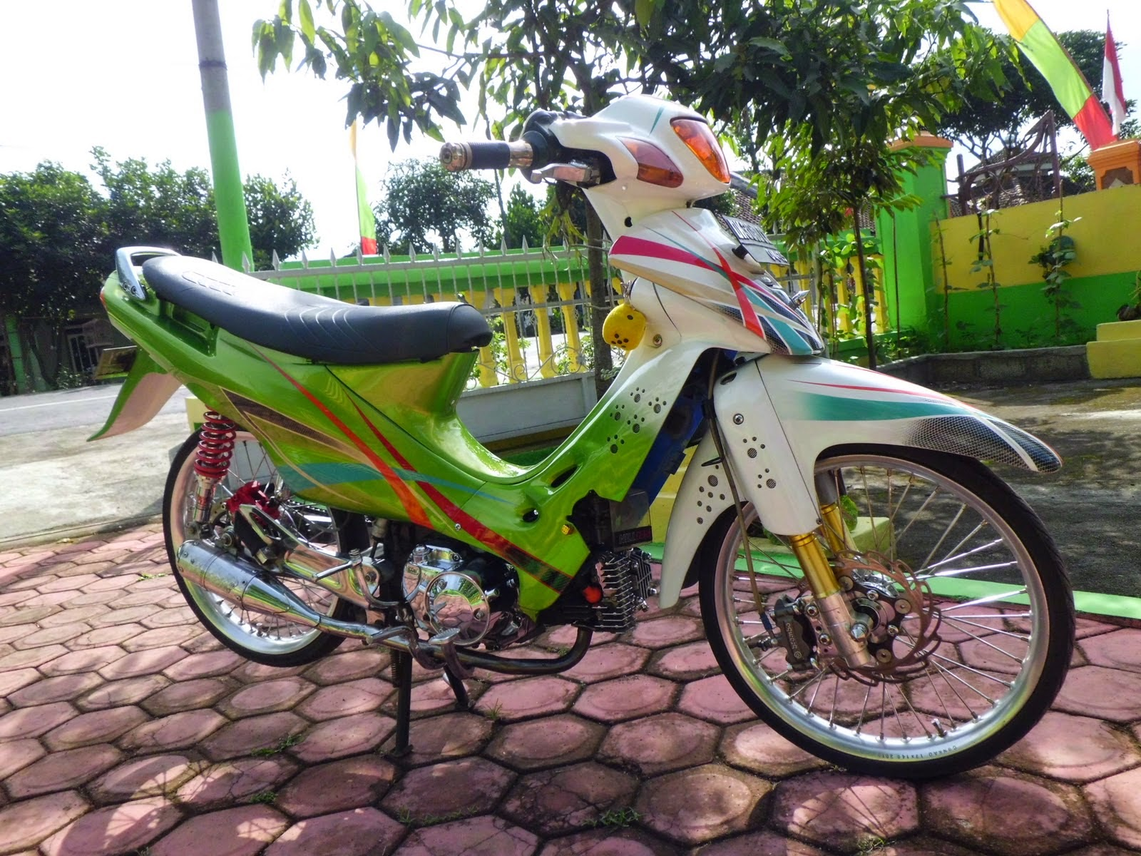 modifikasi motor suzuki shogun 125 rr
