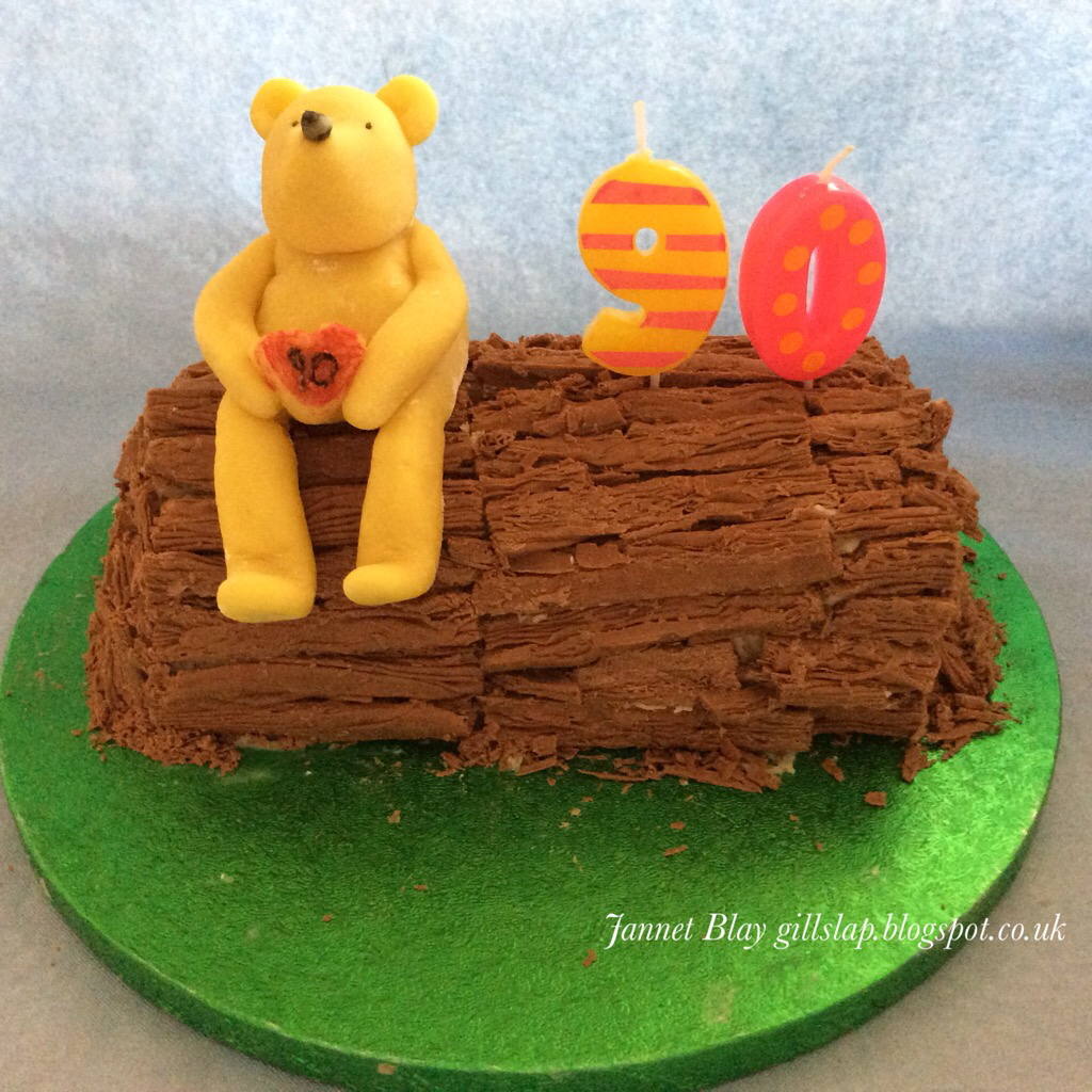 A Special Cake For 90 Year Old Bear