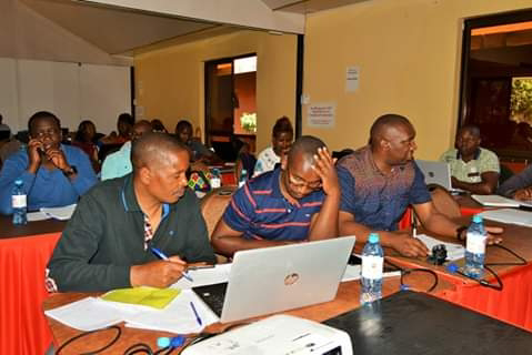 Nyandarua county MCA's on committee meetings. PHOTO | BMS