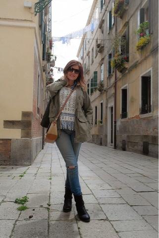 Parka caqui, indispensable en mi visita a Venecia III