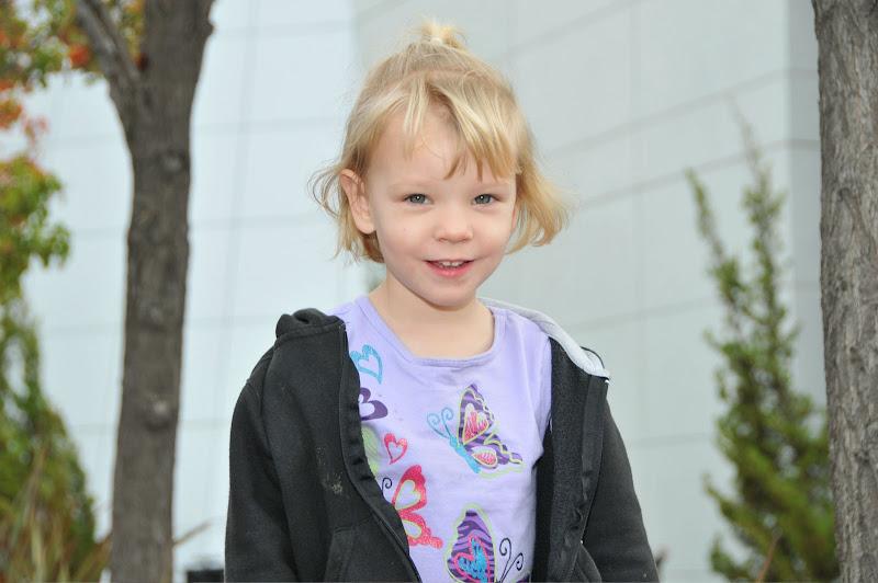 Photo: Sarah loves visiting the Google campus.