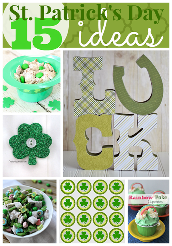 15 St. Patrick's Day Ideas at GingerSnapCrafts.com #StPatricksDay #green #linkparty #features_thumb[3]