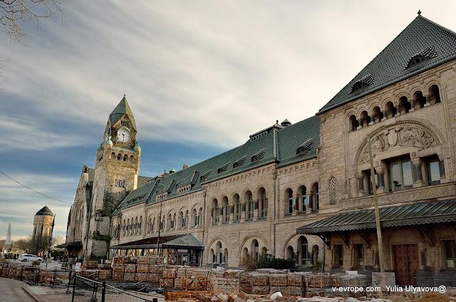 Вокзал в городе Мец