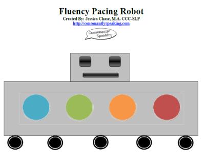 Fluency Pacing Robot