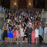 Fotografia de: Els alumnes de Màster i CEU celebren el seu acte de finalització d'estudis 2013/2014 | CETT
