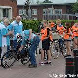 Praktijk fietsverkeersexamens bij de Groenling 2016 - Foto's Abel van der Veen