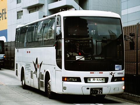 西日本鉄道「フェニックス号」夜行便 4966
