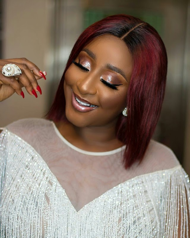 We Love Actress Ini Edo Stunning Outfits at Heaven's on my Mind Movie Premiere