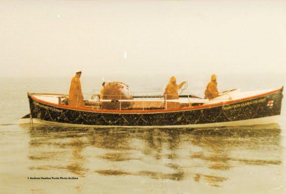 Thomas Kirk Wright's last day at sea, 1962