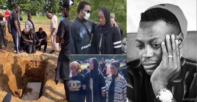 Watch complete video of Sound Sultan's burial as Olamide, and Other Celebrities Attend in US [Video]